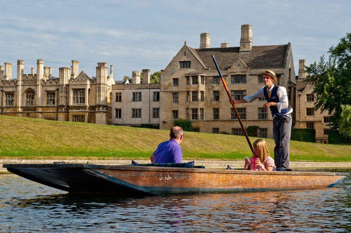 Cambridge boatman