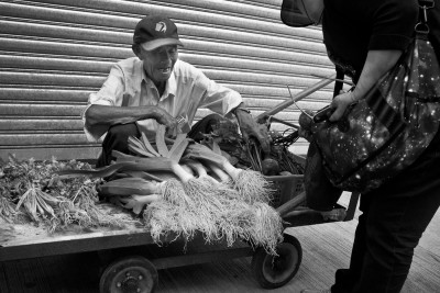 Mobile veg shop